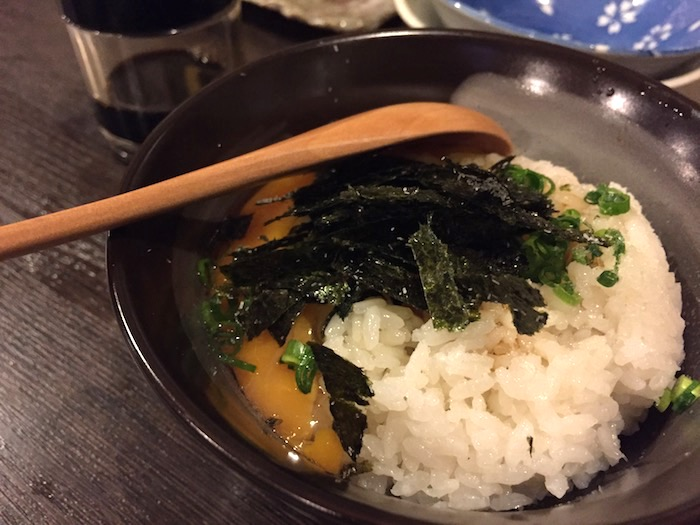 山ちゃんの部屋のタマゴかけ納豆ご飯