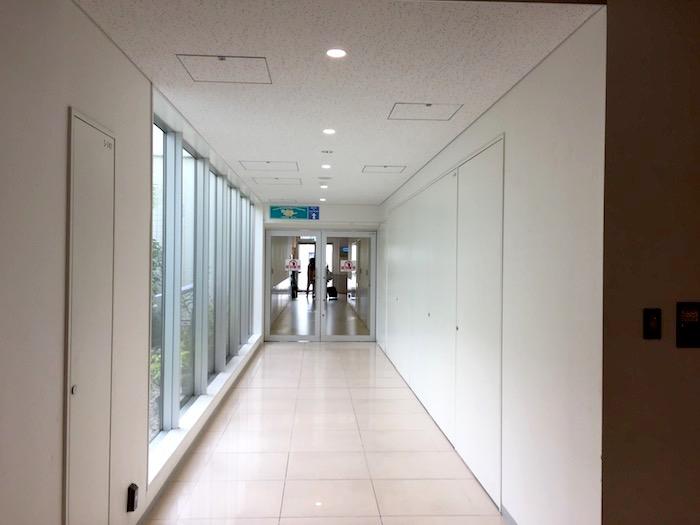 石垣島空港のゆうな通路