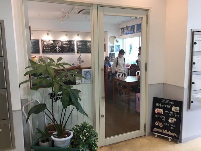 石垣島空港のゆうな入口