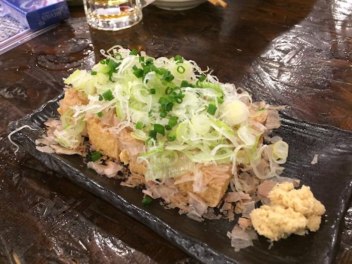 鰓呼吸の島豆腐カリカリ