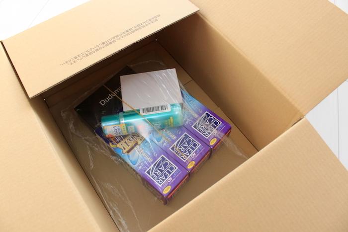 Amazonの箱中身