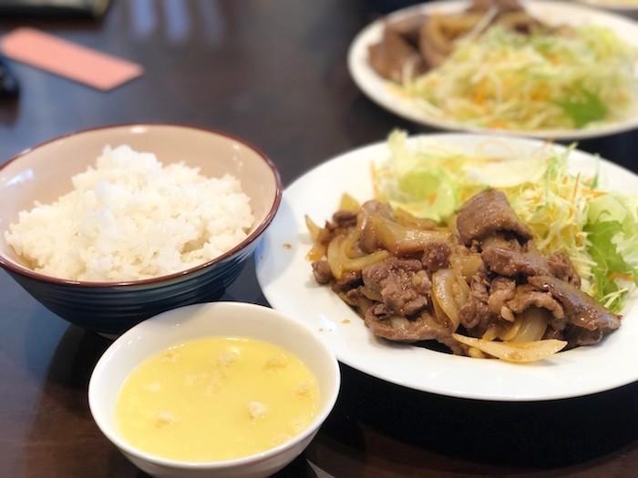 美崎牛本店の焼肉定食