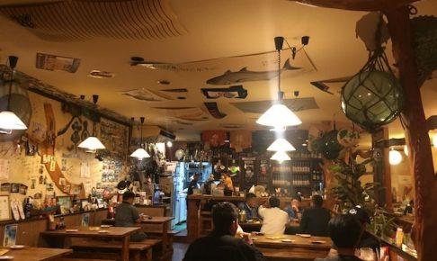石垣島の錦の店内