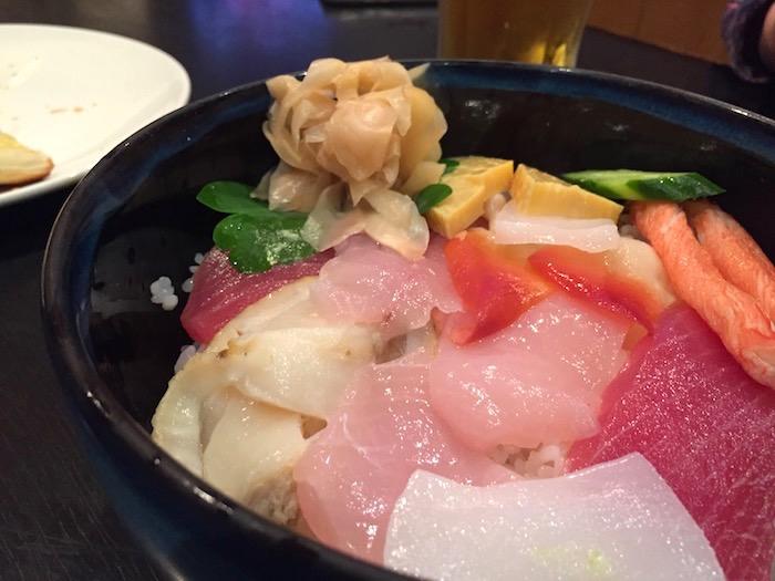 北海道夢jrの海鮮丼