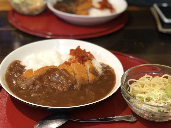 銀座通り食堂の500円ランチ