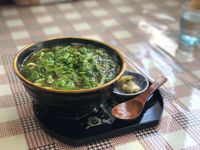 珈琲亭(丸俊商会)の野菜そば