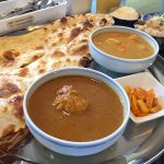 南インド料理ケララキッチンのナンミールスセット