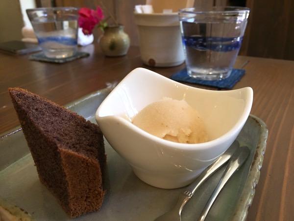 石垣島の旬家ばんちゃんのデザート