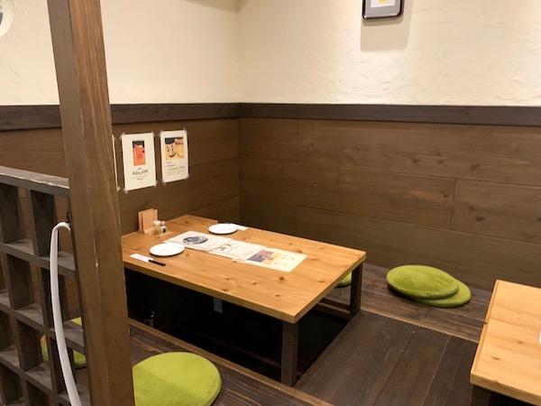 石垣島のお好み焼き、満月の店内