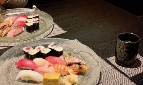 石垣島のお寿司屋・優雅亭・盛山の寿司8巻