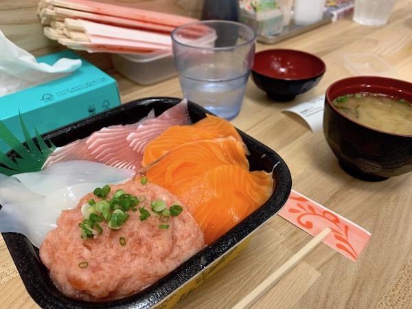 【石垣島】ドン・キホーテのワンコイン海鮮丼家に行ってきたよ!