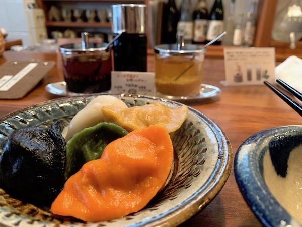 【石垣島】辺銀食堂の五味五色の水餃子
