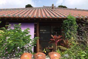 石垣島のカレー屋、中村屋の外観