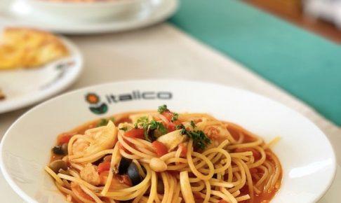 石垣島のイタリアン「イタリコitalico」の本日のパスタ