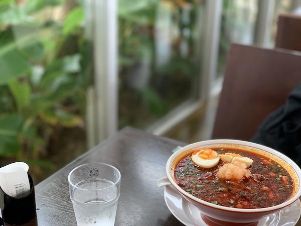 石垣島麺処八重山そば製麺所の辛麺
