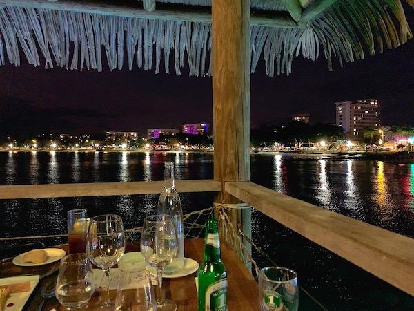 ニューカレドニアのルルーフの夜景です