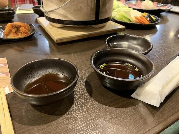 石垣島の焼肉「やまもと」のタレ
