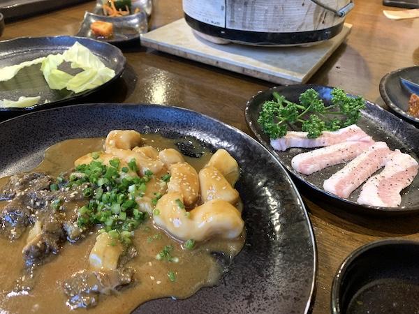 石垣島の焼肉「やまもと」のセンマイ