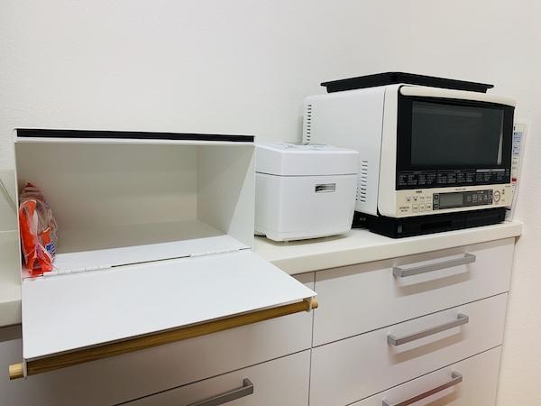 山崎実業のブレッドケース「トスカ」設置してみた